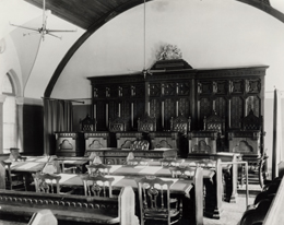 Photo - The Courtroom in the old Court Building