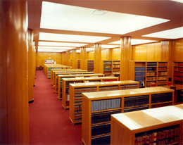 Photo - The  main reading room of the Library